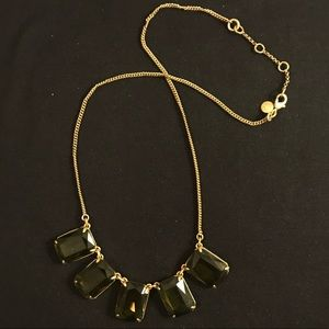 J. Crew Crystal Glass Necklace